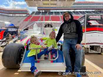 Driver Keith Flach gets memorable birthday present