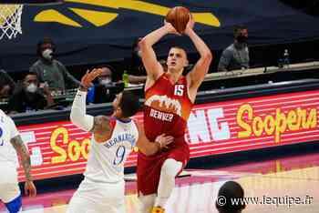 Denver et Nikola Jokic sauvés par le gong contre New Orleans en NBA - L'Équipe.fr