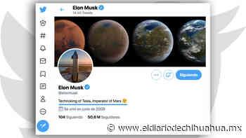 Elon Musk añade nuevo título a su biografía, ahora es 'Emperador de Marte' - El Diario de Chihuahua