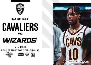 Cavs vs Wizards | Rocket Mortgage Game Preview