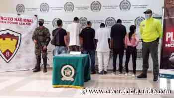 Autoridades impactaron estructura delincuencial del tráfico de drogas en Circasia y La Tebaida - La Cronica del Quindio