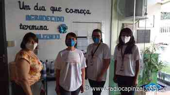 Doações da BRF para escolas de Capinzal e Ouro reforçam combate à Covid-19 - Rádio Capinzal