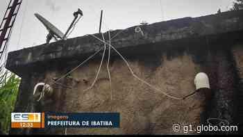 Ladrões furtam cabos de transmissão e prejudicam serviços públicos em Ibatiba, ES - G1