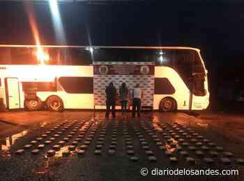 Pillan autobús cargado de droga en Carora - Diario de Los Andes