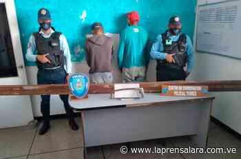 Dos detenidos por intentar hurtar en aeropuerto La Greda, Carora - La Prensa de Lara