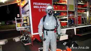 Batteriesäure läuft in Gewerbegebiet in Ostheim aus - HNA.de