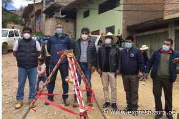 Agua potable vía obras por impuestos en Huamachuco - Expreso (Perú)