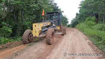 Mejoran tramos críticos de vía Yurimaguas-Jeberillos - DIARIO AHORA