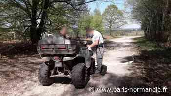 Huit conducteurs verbalisés en forêt de Bord, à Louviers - Paris-Normandie