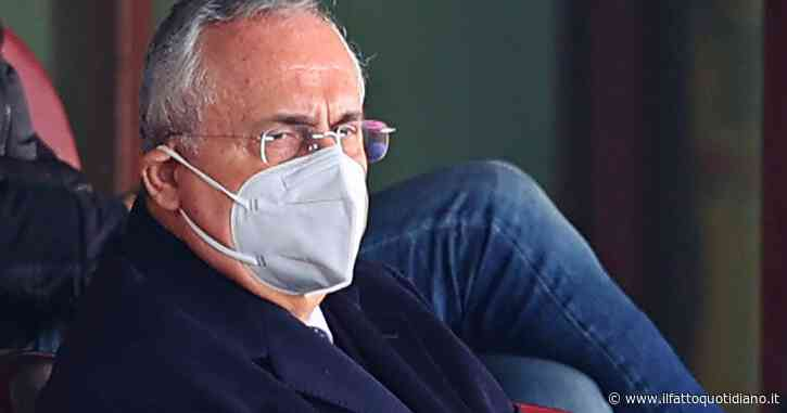 Caso tamponi Lazio, 12 mesi di inibizione per il presidente Claudio Lotito