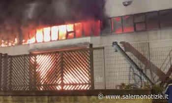 Incendio di Nocera Inferiore, primi risultati del monitoraggio delle diossine - Salernonotizie.it