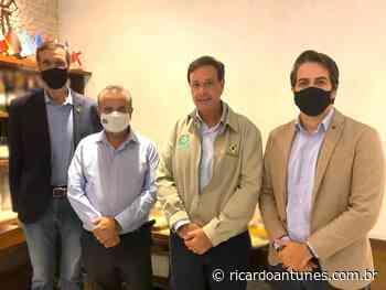 Secretários de Ipojuca se reúnem com ministros de Bolsonaro para tratar de investimentos no município - Ricardo Antunes