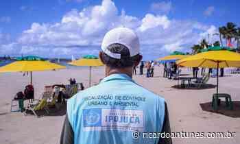 Prefeitura do Ipojuca fiscaliza retomada do comércio de praia - Ricardo Antunes