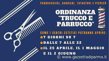A Fidenza parrucchieri, barbieri e tatuatori aperti 7 giorni su 7 - Gazzetta di Parma - Gazzetta di Parma
