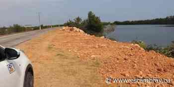 Amplían pedraplén de la península de Ancón en Trinidad – Escambray - Escambray