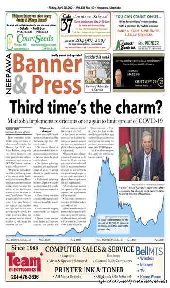 Friday, April 30, 2021 Neepawa Banner & Press - myWestman.ca
