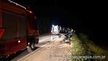 Jovem de Guaramirim morre após acidente na BR-280, em Araquari - Diário da Jaraguá