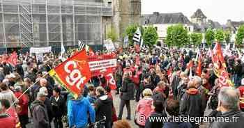 Après une année sans, retour du défilé du 1er mai à Hennebont - Le Télégramme