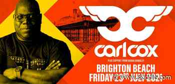 DJ Carl Cox to perform huge live show on Brighton Beach this July - Skiddle.com