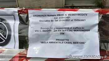 """Casal Bertone, al via i lavori per l'isola ambientale. I cittadini: """"Calata dall'alto"""""""