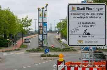 B10 bei Plochingen: Otto-Konz-Brücke wird für ein Jahr zum Nadelöhr - Plochingen - esslinger-zeitung.de