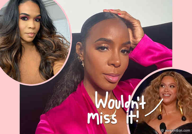 OMG! Kelly Rowland Says Beyoncé And Michelle Williams Were On Zoom While She Gave Birth!!