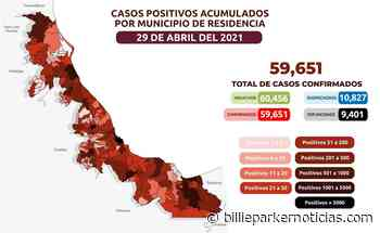 En Acajete, Apazapan, Jalcomulco, Tlacojalpan y Tlaltetela habrá hoy segundas dosis - Billie Parker Noticias