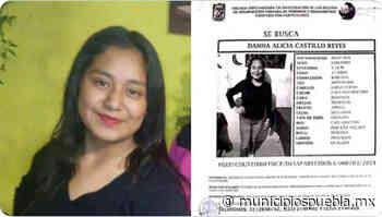 Danna Alicia de 17 años desaparece en Acajete - Municipios Puebla