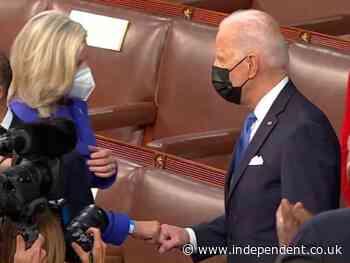 'We're Americans': Liz Cheney defends Joe Biden fist bump as her Trump feud splits GOP