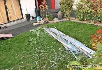 Explosion in Leingarten: Wie kam Hausbewohner an Akku in Größe eines Schuhkartons? - Heilbronner Stimme