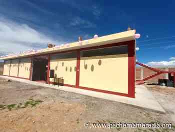 Inauguran almacén central de la UGEL Lampa, uno de los más grandes de la región - Pachamama radio 850 AM