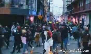 VIDEOS. Paro Nacional: madrugaron a protestar en Santa Rosa de Osos - Minuto30.com