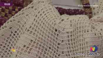 Museu Histórico de Pinhalzinho recebe peça de crochê para exposição - ND Mais