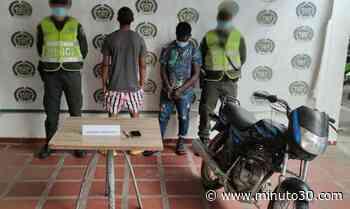 Capturados tras robarle el celular a una joven en Quibdó - Minuto30.com