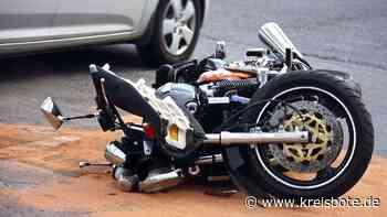 Unfall: Frau übersieht Motorradfahrer beim Abbiegen in Marktoberdorf - Kreisbote