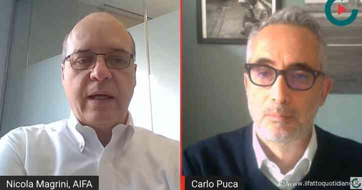 """Magrini (Aifa): """"Paesi senza scrupoli hanno preso più vaccini, ma la torta era una. L'Italia avrà quei grandi quantitativi solo in estate"""""""