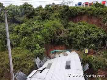 Una persona murió atrapada tras deslizamiento en Anserma - La Patria.com