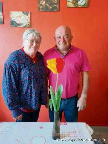 Insolite. Un habitant de Montivilliers, près du Havre, découvre une tulipe bicolore dans son jardin - Paris-Normandie