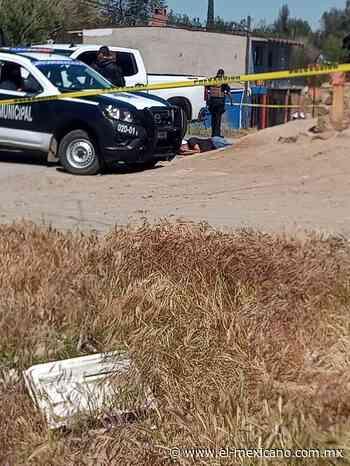 Identifican a hombre asesinado en Cerro Azul - El Mexicano Gran Diario Regional