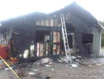 Arson at French River cottage causes extensive damage