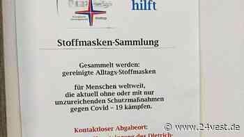 Kirchengemeinden in Waltrop sammeln Stoffmasken - 24VEST