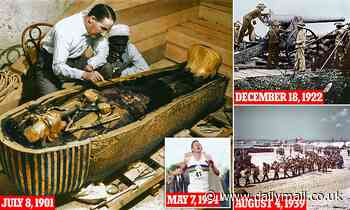 125 years of the Daily Mail: How the paper broke open Tutankhamun's tomb