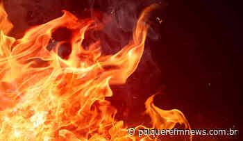 Incêndio destrói capela mortuária na Vila Nova em Londrina - Paiquerê FM News