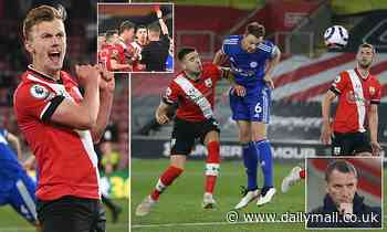 Southampton 1-1 Leicester: Foxes drop points in the race for Champions League against 10-man Saints
