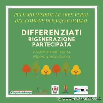"""Bagnacavallo - """"Differenziati"""", progetto dei giovani di Radio Sonora per la pulizia delle aree verdi – Ravenna24ore.it - Ravenna24ore"""