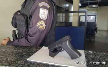 Bom Jesus do Itabapoana: apreensão de pistola falsa durante ação do 29º BPM   Itaperuna   O DIA - Jornal O Dia