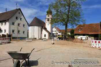 In Offnadingen entsteht ein Dorfplatz nach der Planung der Bürger - Ehrenkirchen - Badische Zeitung