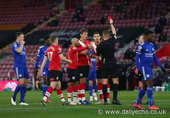 Hasenhuttl says Saints plan to appeal Vestergaard red card