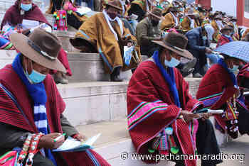 En Moho, Huancané y Putina ratifican paro de 48 horas - Pachamama radio 850 AM