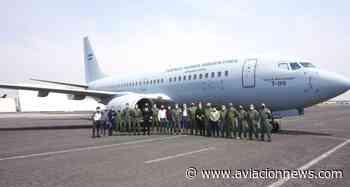 El Palomar volvió a recibir un B737, con el arribo del nuevo avión de transporte para la Fuerza Aérea Argentina - Aviacion News